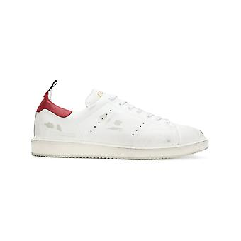 Golden Goose men's G32MS631L9 White leather of sneakers