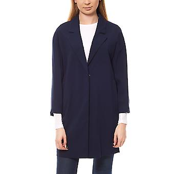 Heine ladies Blazer long Blazer standard blue