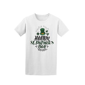 Happy St Patrick's Day Irish Top Hat Tee - Image by Shutterstock
