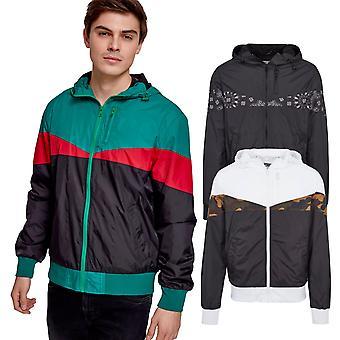 Urban classics - ARROW pattern Windrunner jacket