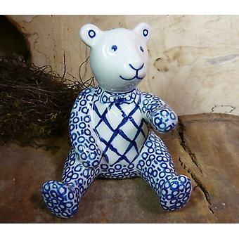 Teddy bear, 11.5 cm high, tradition 2, BSN 8063