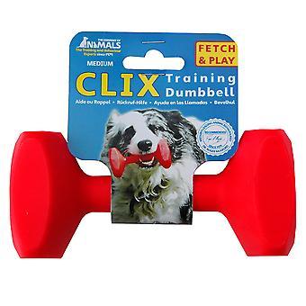 Clix العائمة التدريب الدمبل للكلب، وتلعب استرجاع الكلب التدريب M