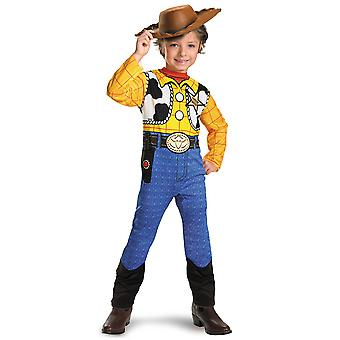 Woody Classic Sheriff Cowboy Disney Pixar Toy Story Toddler Boys Costume 3T-4T