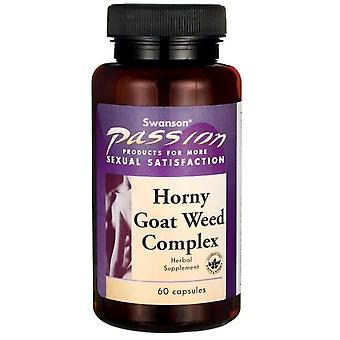 Swanson Horny Goat Weed Complex 60 Capsules