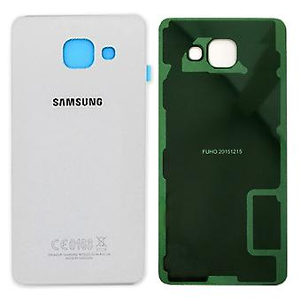 Samsung GH82-11093C battery cover cover for Galaxy A3 2016 A310F + adhesive pad white