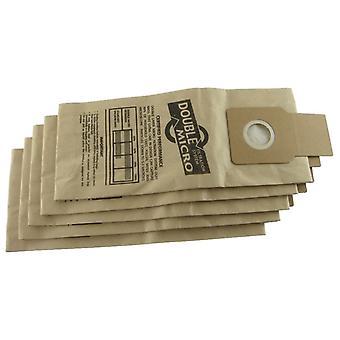Panasonic upprätt dammsugare damm papperspåsar
