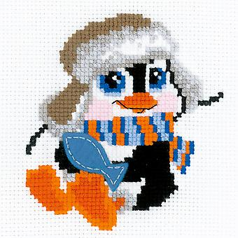Penguin Counted Cross Stitch Kit-6