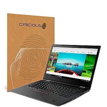 Celicious Impact Anti-Shock Shatterproof Screen Protector Film Compatible with Lenovo ThinkPad X1 Yoga 3rd Gen