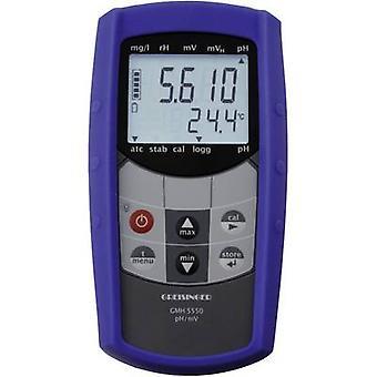 Equipo de medición de pH y redox GREISINGER GMH 5550
