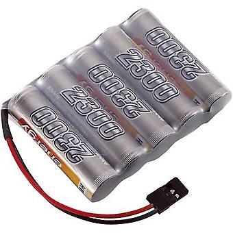 Scale model receiver battery (NiMH) 6 V 2300 mAh Conrad energy S