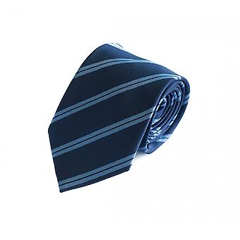 Tie tie tie tie 8cm Blue light blue striped Fabio Farini
