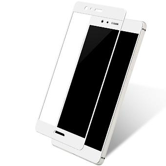 Huawei Y3 2017 3D armoured glass foil display 9 H protective film covers case white