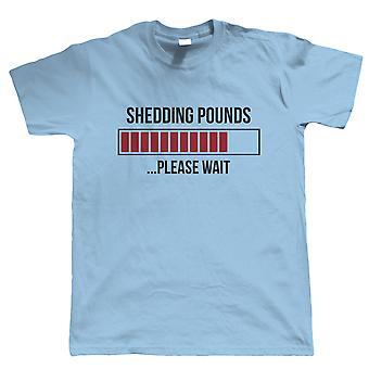 Shedding Pounds, Mens T Shirt