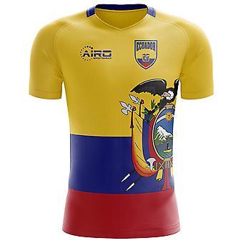 2018-2019 إكوادور مفهوم الوطن لكرة القدم قميص (الأطفال)
