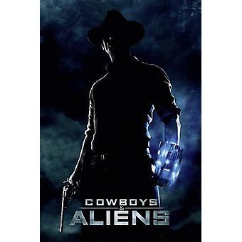 Cowboys & Aliens Poster Jake Lonergan