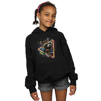 Marvel Girls Guardians of the Galaxy Neon Rocket Hoodie