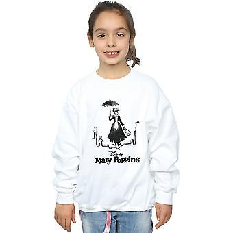 Disney jenter Mary Poppins Rooftop Landing Sweatshirt