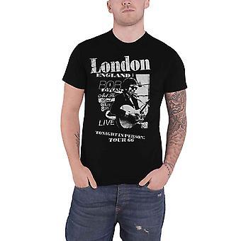 Bob Dylan T Shirt Scraps Logo new Official Mens Black