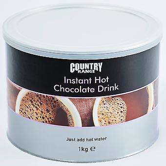 Land Auswahl sofort trinken heiße Schokolade Mix