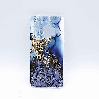 Für Samsung Galaxy S9 – Fall – Gold auf Schnee