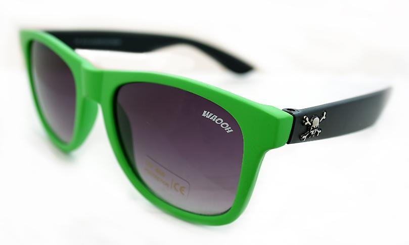 Waooh - Sunglasses 0035 Skull - Mount Bicolore - Protection UV400 Category 3 - Sunglasses