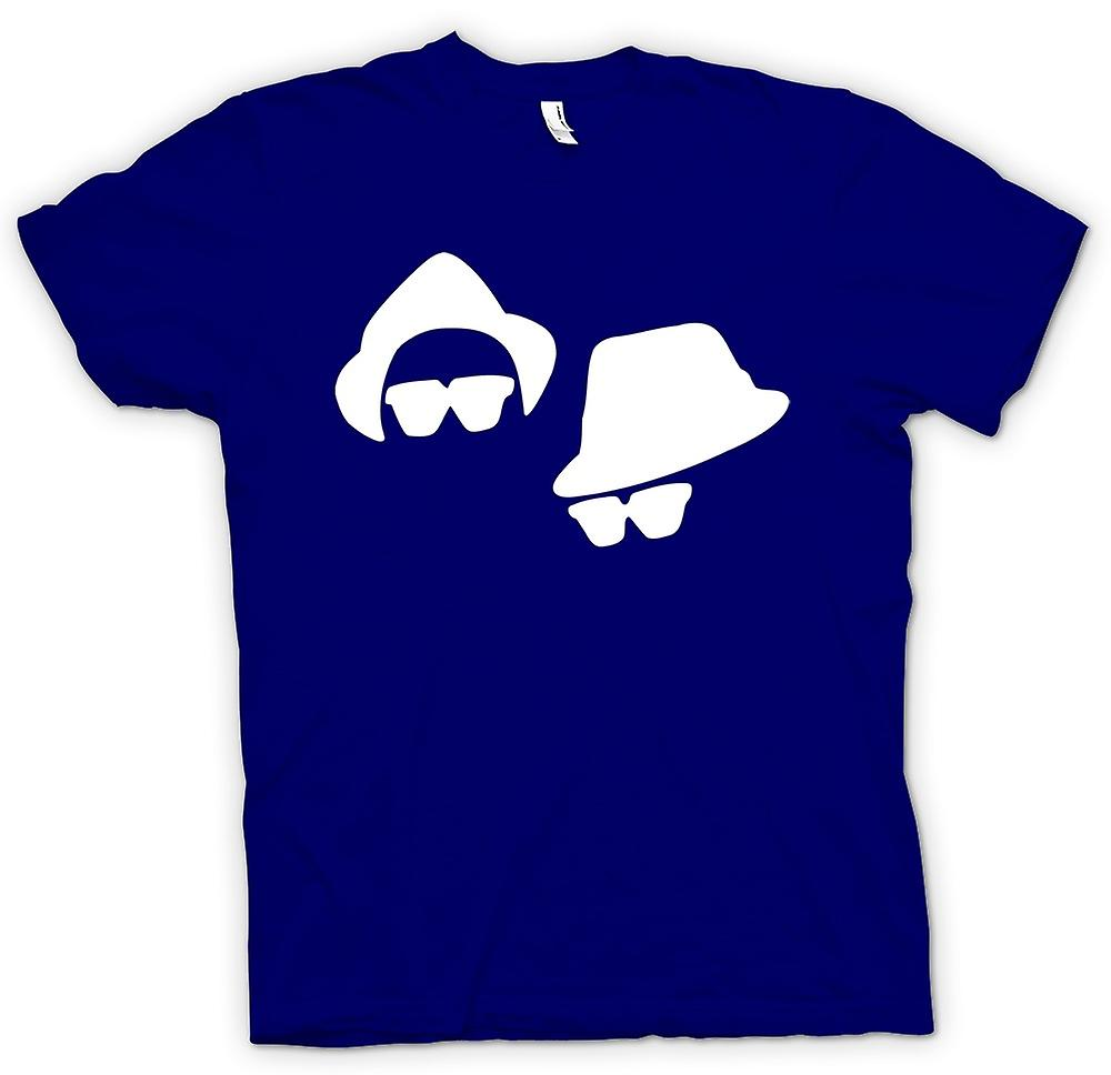 Mens T-shirt - Blues Brothers Faces