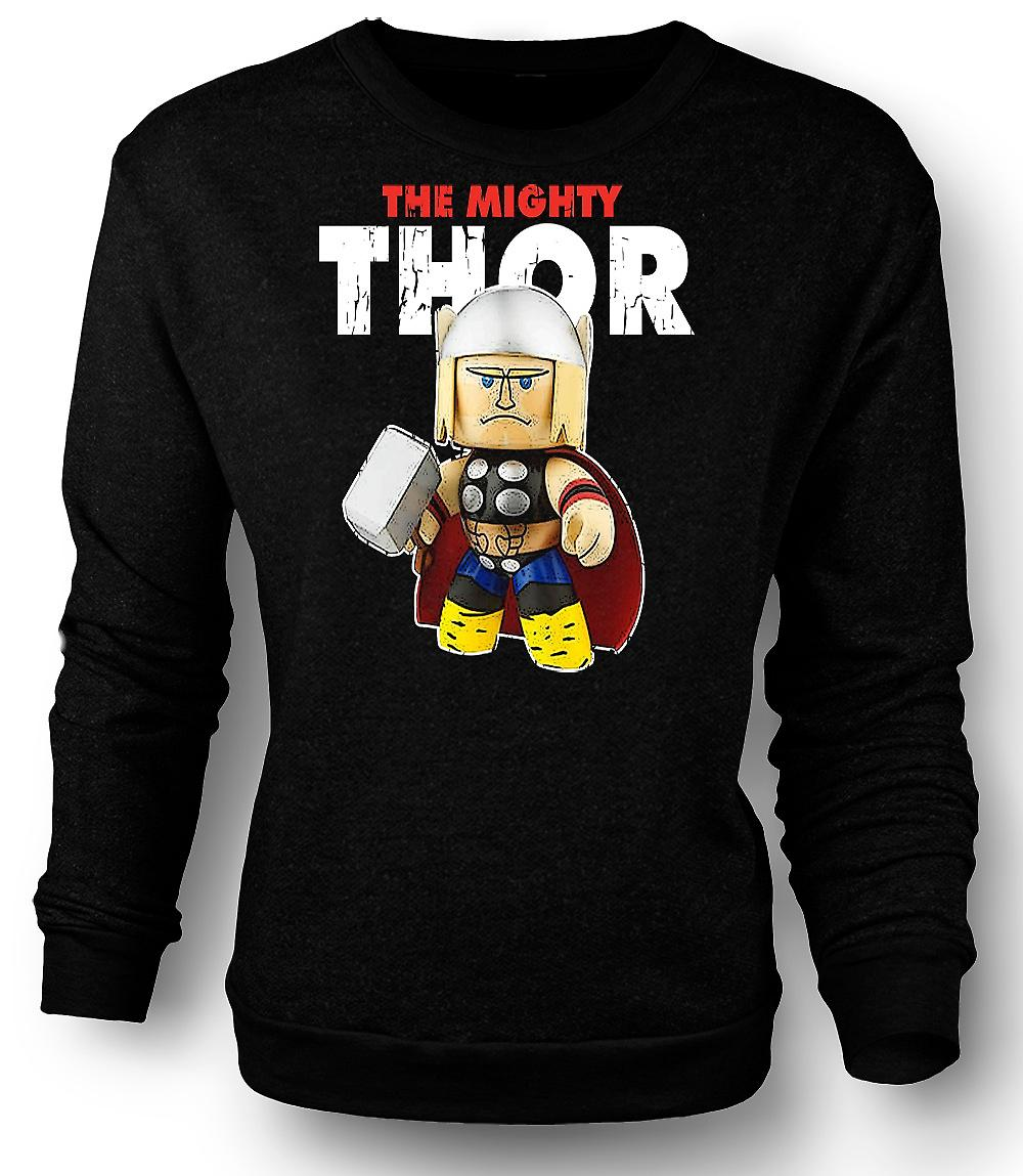Mens Sweatshirt The Mighty Thor Cute
