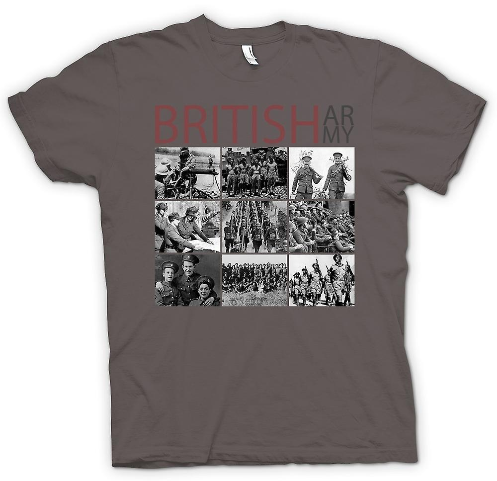 Womens T-shirt - World War 2 - The British Army