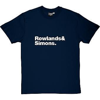 T-shirt dos homens de line-up do Chemical Brothers