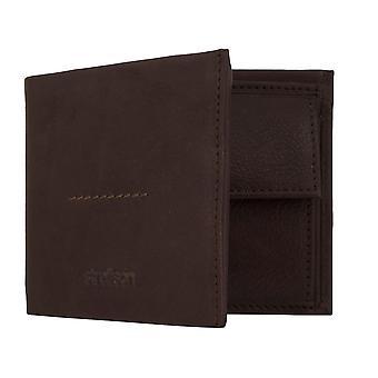 Portefeuille de sac de pièce Strellson Billford H6 masculine sac à main avec protection puce RFID Brown 7793