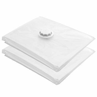 寝具掃除機袋服を省大 80 × 100 cm 真空ストレージ スペース × 2