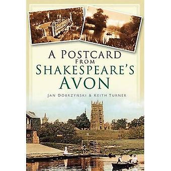 Una postal de Avon de Shakespeare