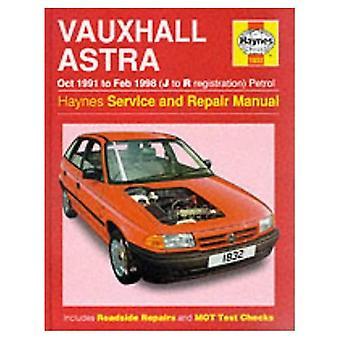 Vauxhall Astra (1991-98) Service and Repair Manual (Haynes Service and Repair Manuals)