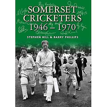 Somerset Cricketers 1946-1970