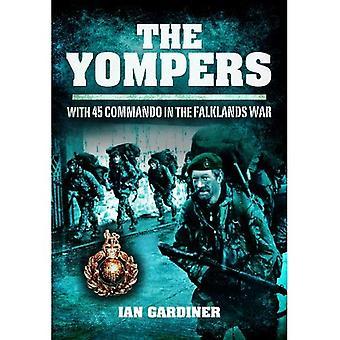 Le Yompers: Avec 45 Commando dans la guerre des Malouines