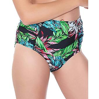 Fantasie Mahe Fs6210 High Rise Gathered Bikini Brief