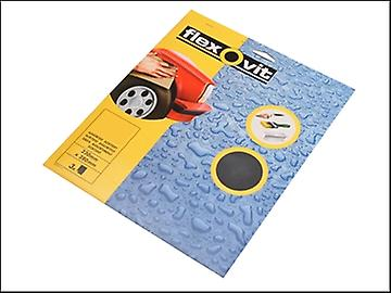 Flexovit Waterproof Sanding Sheets 230 x 280mm 320g (25)