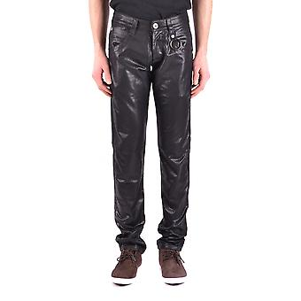 Diadora Black Cotton Jeans