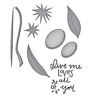 Truecan oliva Me sello y Die Set (SDS-051)
