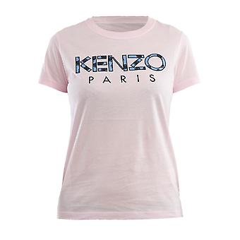 Kenzo Pink Cotton T-shirt
