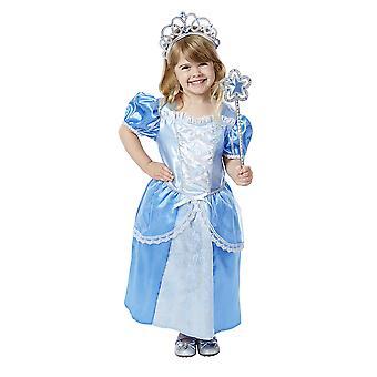 Crianças meninas Melissa & Doug Royal Princess fantasia vestido traje idade 3-6