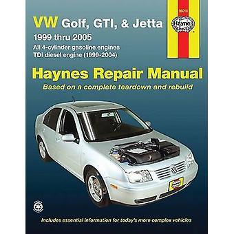 VW Golf - GTI - & Jetta - 1999 Thru 2005  - All 4-Cylinder Gasoline En