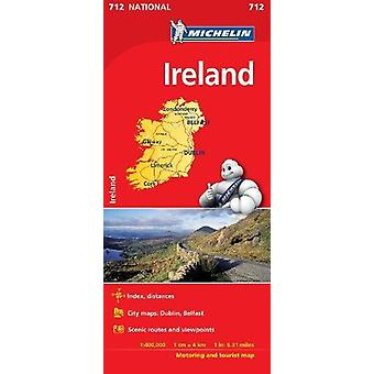 Ireland - Michelin National Map 712 - Map by Ireland - Michelin Nation