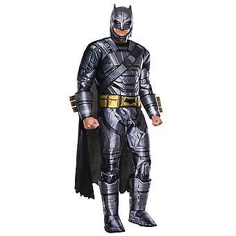 V de Batman Superman Deluxe Armored aube de Justice DC Mens Costume de super héros
