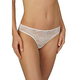 Mey Women 79046-5 Champagne Fabulous Femmes Off-White Lace Panty Thong