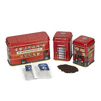 British traditions triple tea selection mini tin gift pack