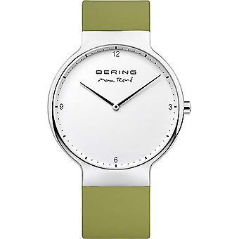 Bering Men's Watch Wristwatch Max René Ultra Slim - 15540-800 Silicone