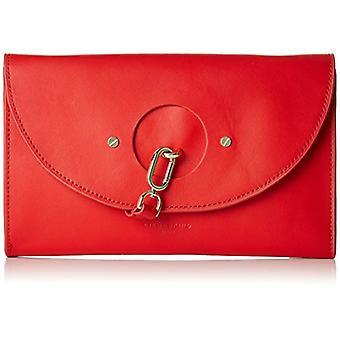 Liebeskind Berlin ClutchS - RndFlp Red Woman Bag (red (liebeskind red 3126)) 4x19x27 cm (B x H x T)