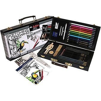 Artist Set For Beginners Sketching & Drawing Ds3000
