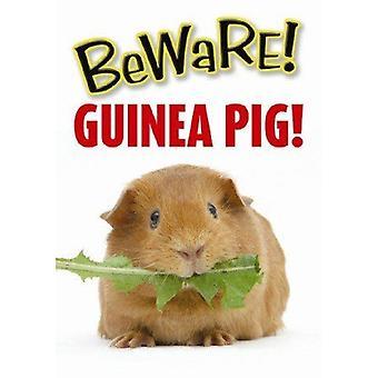 Beware Guinea Pig Sign